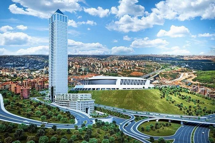 برج عملاق وشقق باذخة في مسلك - أرقى مناطق اسطنبول 9