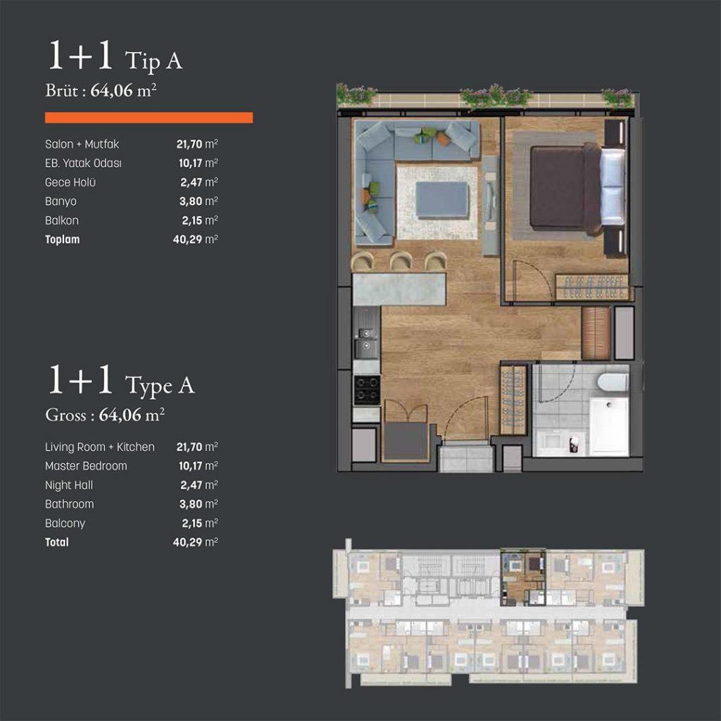 شقق حديثة بنظام ذكي مناسبة للاستثمار والسكن 3