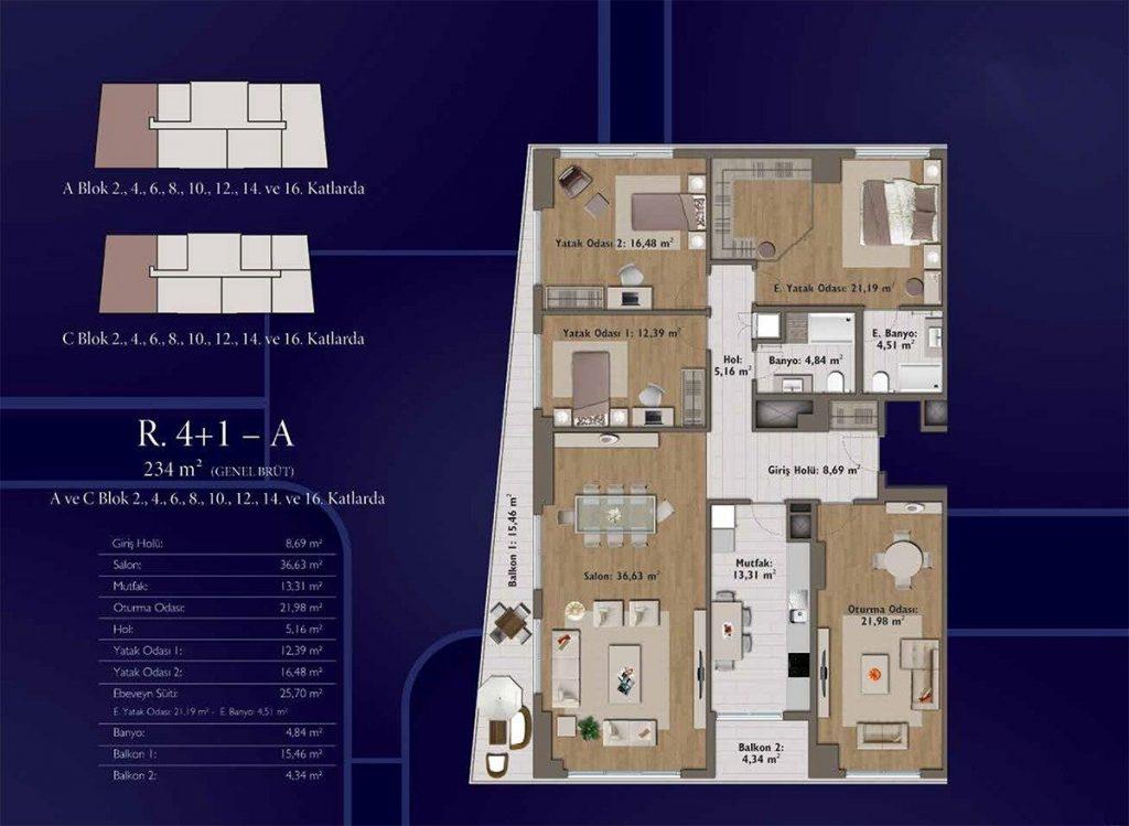 شقق سكنية رخيصة متمايزة بأهم موقع حيوي واعد يعتبر في مركز اسطنبول - باسن اكسبرس 10
