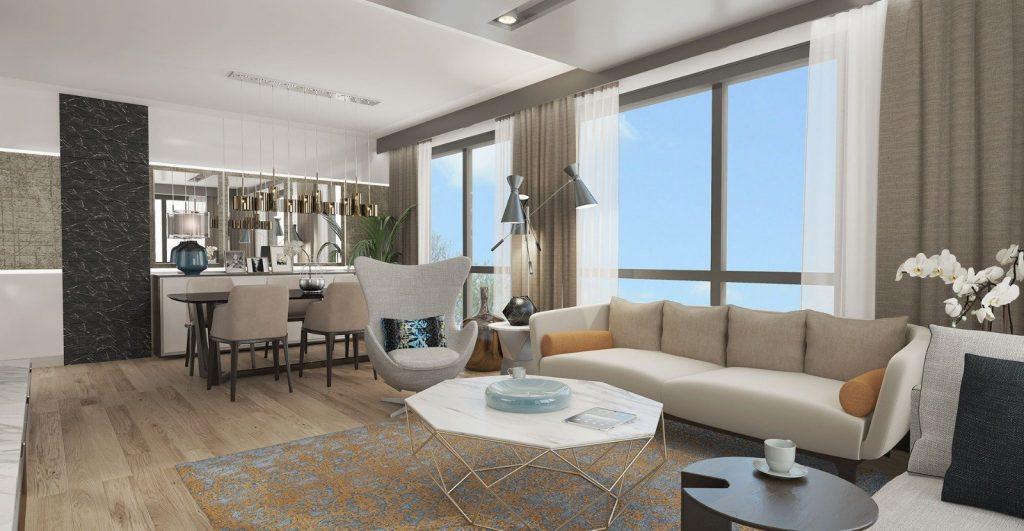 شقق سكنية رخيصة متمايزة بأهم موقع حيوي واعد يعتبر في مركز اسطنبول - باسن اكسبرس 13