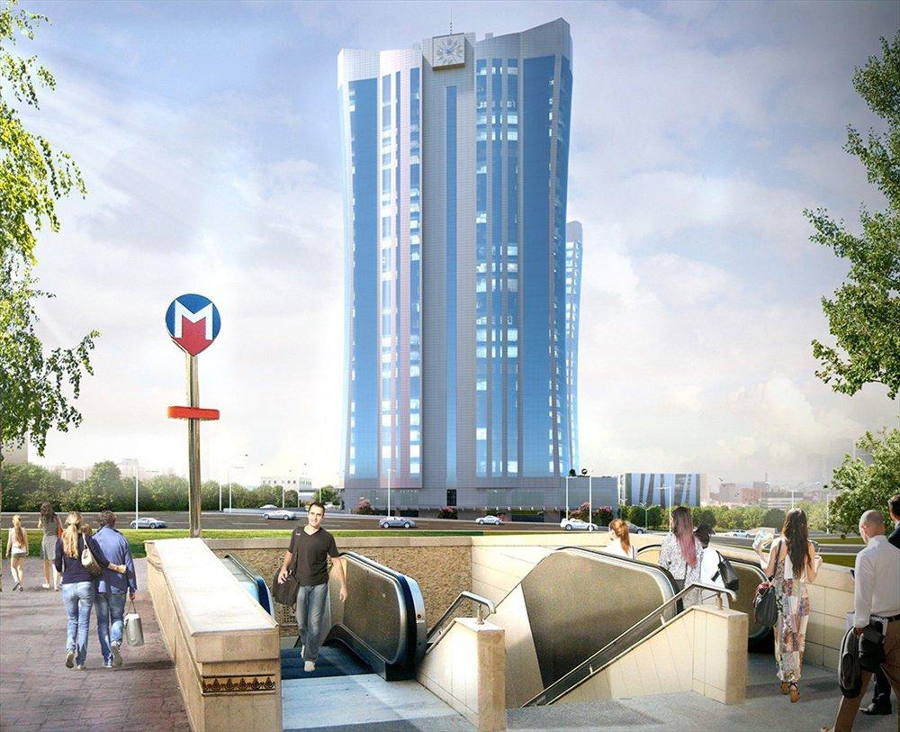 مشروع استثماري إبداعي باذخ على المترو متاخم لطريق باسن اكسبرس في اسطنبول 43