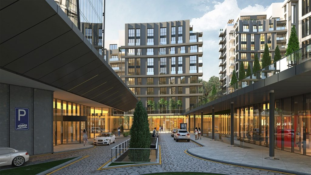 مشروع فاره بإطلالة أخاذة في أرقى مناطق اسطنبول - مسلك 9