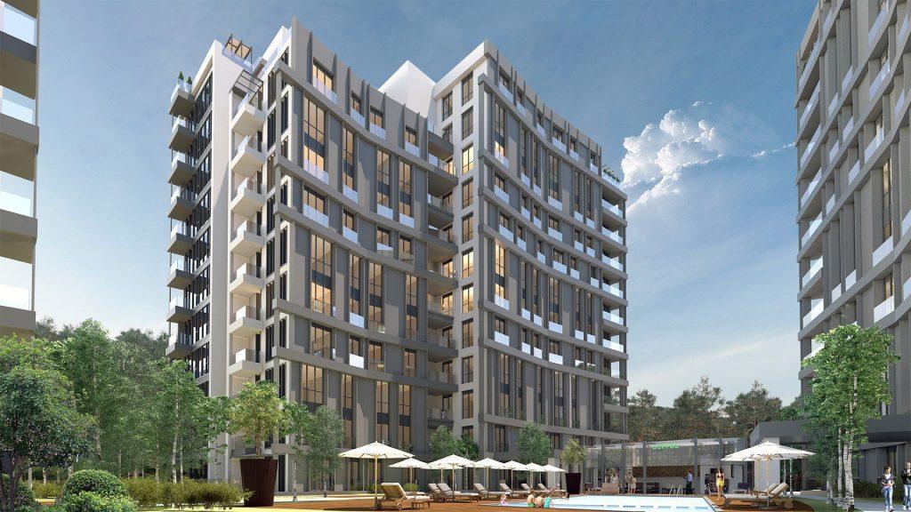 مشروع فاره بإطلالة أخاذة في أرقى مناطق اسطنبول - مسلك 10