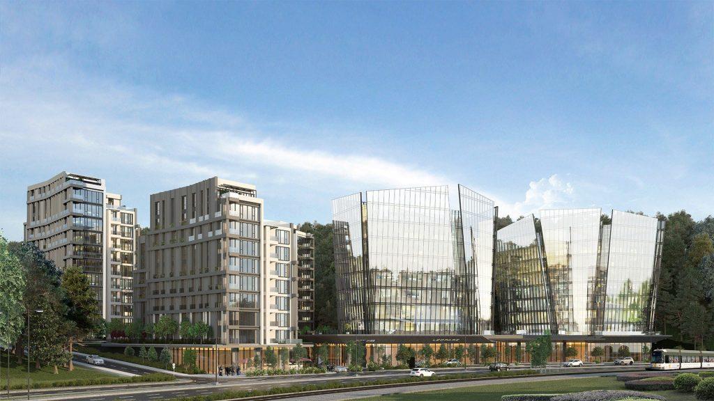 مشروع فاره بإطلالة أخاذة في أرقى مناطق اسطنبول - مسلك 13