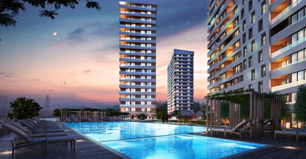 Affordable apartments in a vital and promising location on Basın Express 1