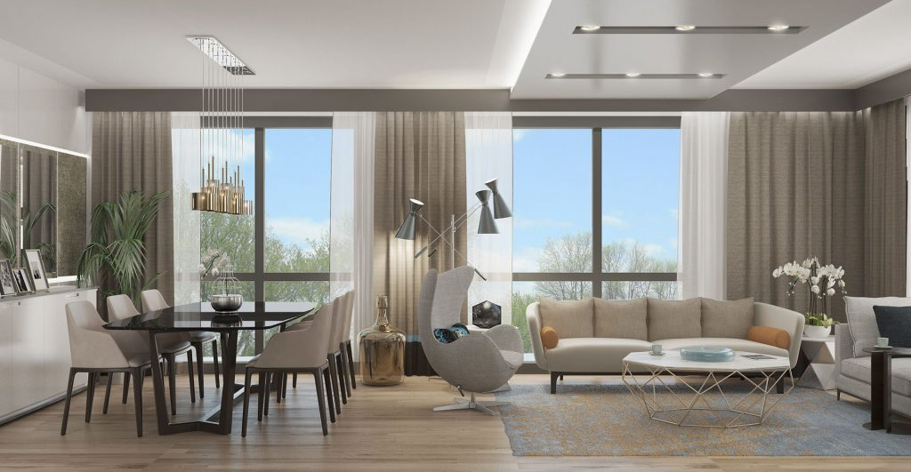 Affordable apartments in a vital and promising location on Basın Express 9