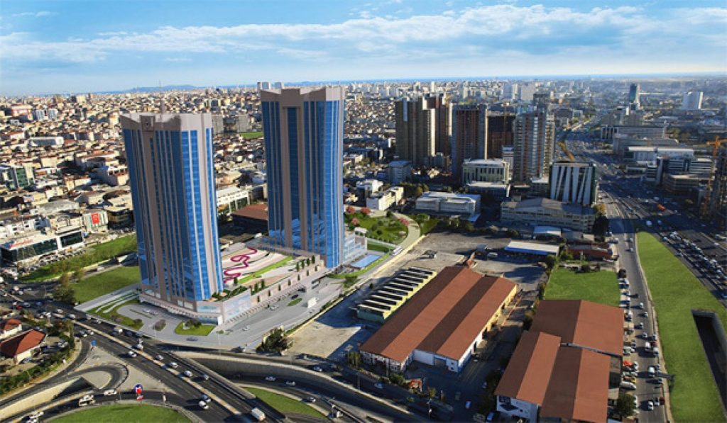 Luxurious real estate investment project steps away from the metro adjacent to Basın Express in Istanbul 7