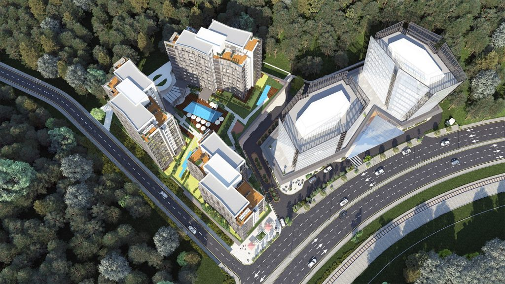 Luxurious real estate project with a magnificent view in Maslak, Istanbul 6