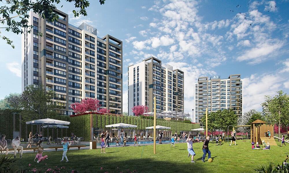 مشروع استثماري سكني ملائم للاستثمار و الجنسية التركية في بشاك شهير | مشروع اسطنبول 3