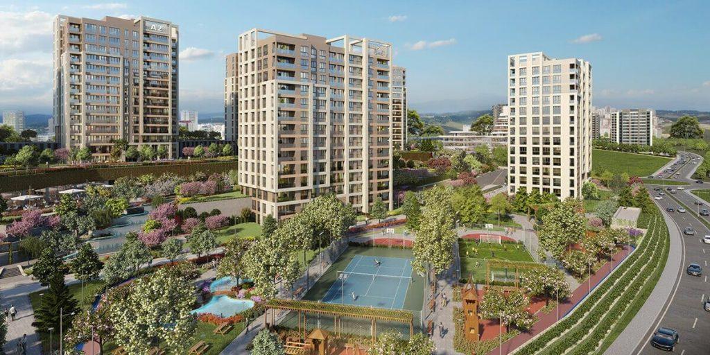 مشروع استثماري سكني ملائم للاستثمار و الجنسية التركية في بشاك شهير | مشروع اسطنبول 3 4