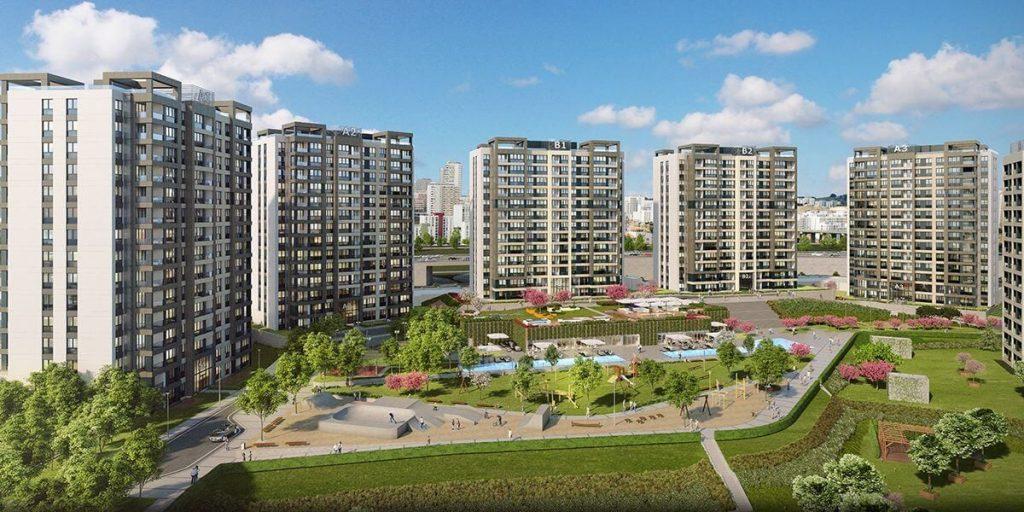 مشروع استثماري سكني ملائم للاستثمار و الجنسية التركية في بشاك شهير | مشروع اسطنبول 3 5