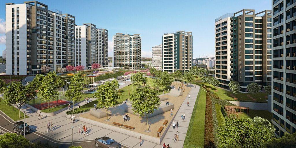 مشروع استثماري سكني ملائم للاستثمار و الجنسية التركية في بشاك شهير | مشروع اسطنبول 3 6