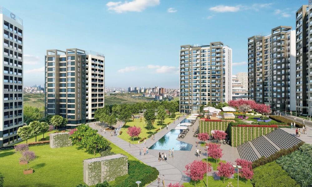 مشروع استثماري سكني ملائم للاستثمار و الجنسية التركية في بشاك شهير | مشروع اسطنبول 3 8
