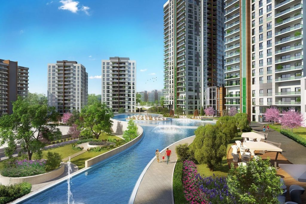 Apartments for Sale for Living and Investment in Başakşehir | Avrupa Konutları Project 1