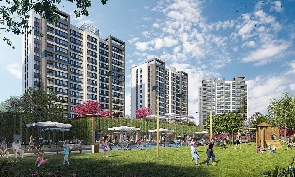 Apartments for sale perfect for investment in Istanbul 1