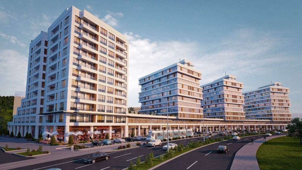 Apartments, offices, and shops ripe for investment in finest region of Istanbul, Maslak 1