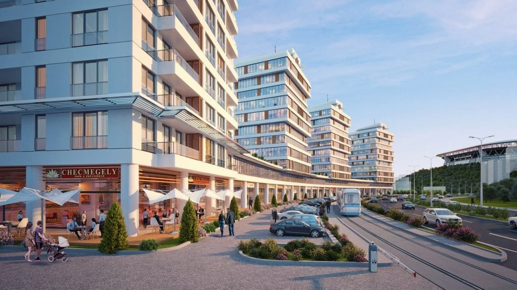 Apartments, offices, and shops ripe for investment in finest region of Istanbul, Maslak 6