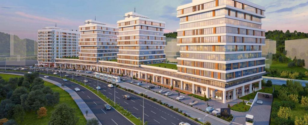 Apartments, offices, and shops ripe for investment in finest region of Istanbul, Maslak 7