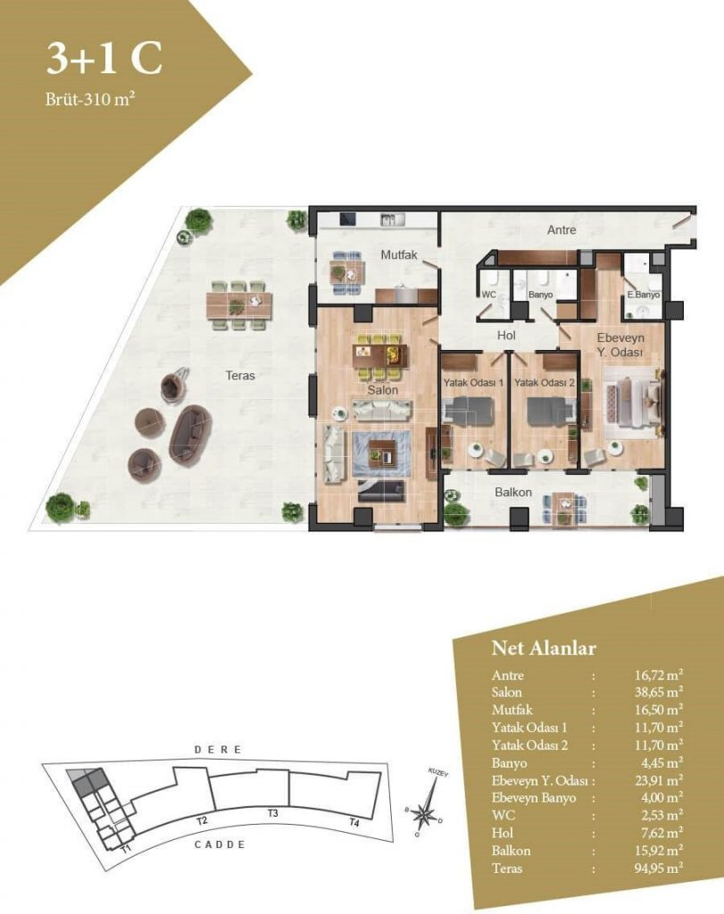 Apartments, offices, and shops ripe for investment in finest region of Istanbul, Maslak 13