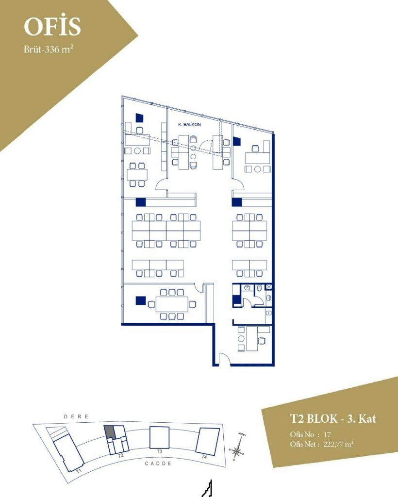 Apartments, offices, and shops ripe for investment in finest region of Istanbul, Maslak 14